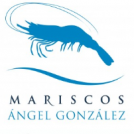 Logo mariscos angel